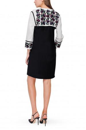 Платье «Юстина» черного цвета