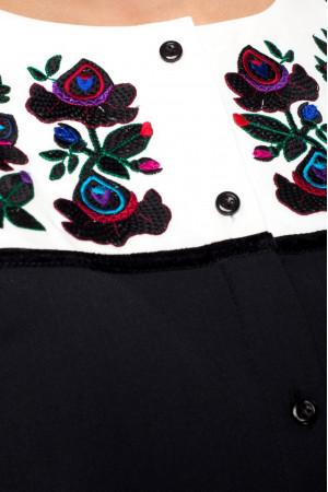 Сукня «Юстина» чорного кольору