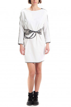 Сукня «Звенислава» чорно-біла