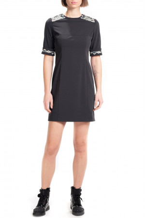 Платье «Томира» черного цвета