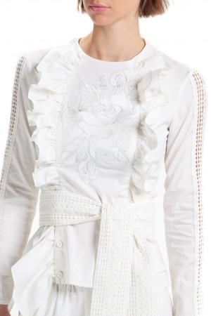 Вишита блуза «Ярослава» білого кольору