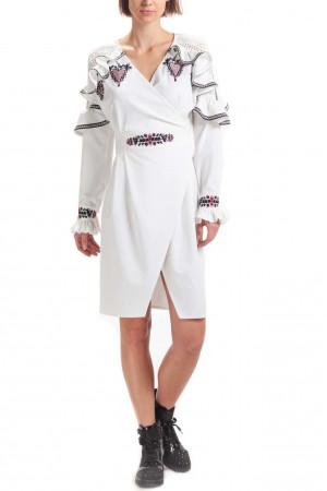Платье «Клио» белого цвета