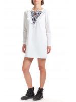 Платье «Дульсия» белого цвета
