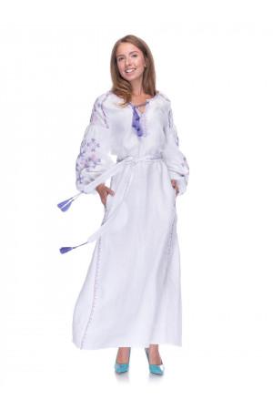 Сукня «Цвіт папороті» білого кольору