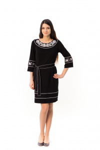 Платье «Очарование» черного цвета