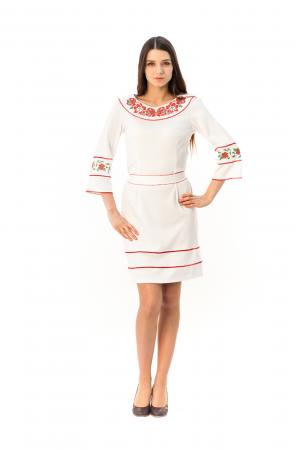 Платье «Очарование» белого цвета