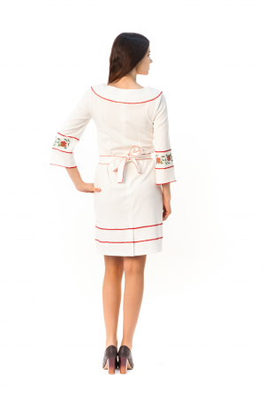 Сукня «Чарівність» білого кольору