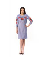 Платье «Маки-васильки»