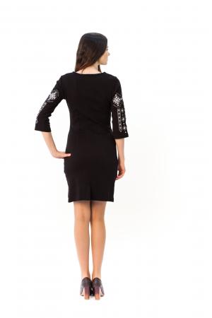 Платье «Традиция» черного цвета