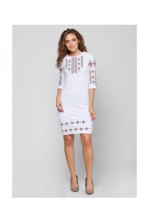 Платье «Традиция» белого цвета
