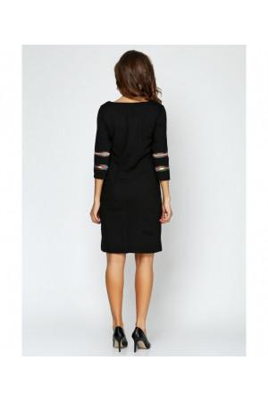 Сукня «Геометрія» чорного кольору