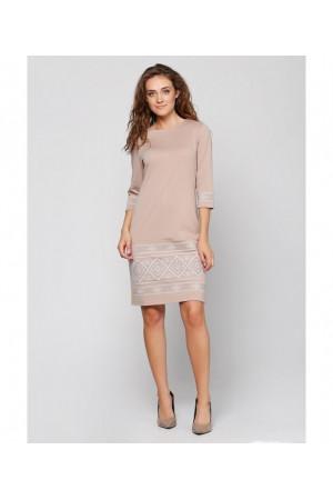 Сукня «Стефанія» бежевого кольору