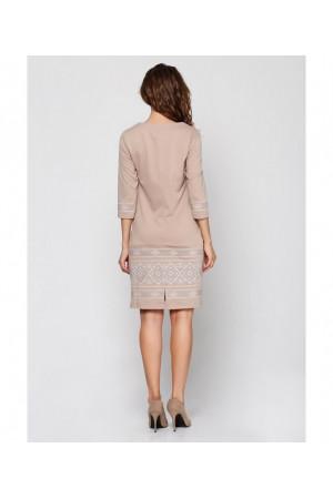 Платье «Стефания» бежевого цвета