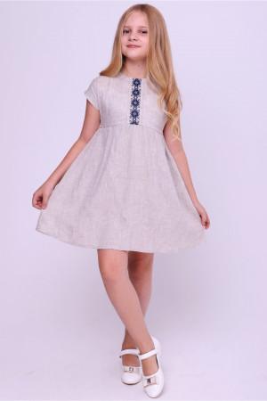 Платье для девочки «Благовида» бежевого цвета