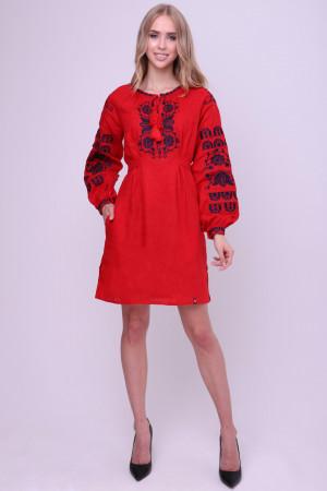 Сукня «Добряна» червоного кольору