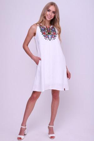 Сукня «Коломийка» білого кольору