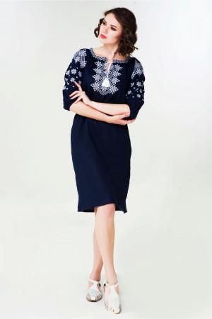 Платье «Болеслава» синего цвета