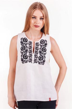 Вишита блуза «Діброва» білого кольору