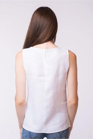 Вишита блуза «Векла» білого кольору