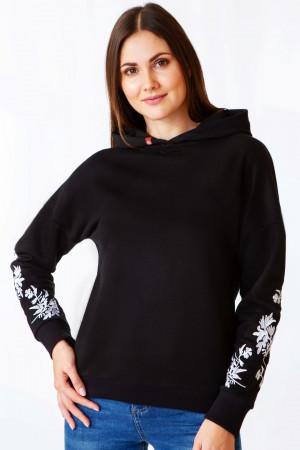 Худи «Анничка» черного цвета