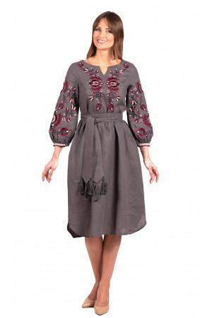 Платье «Гафия» цвета графит