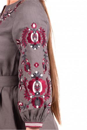 Сукня «Гафія» кольору графіт