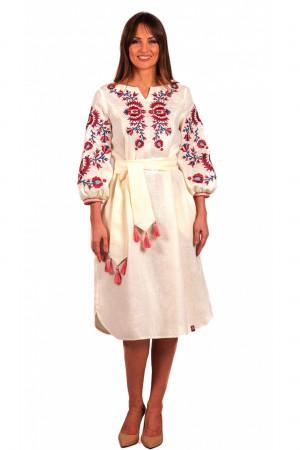 Платье «Гафия» сливочного цвета