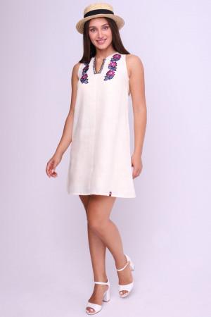 Сукня «Ганнуся» молочного кольору