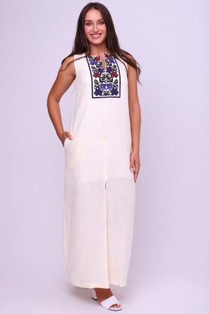 Сукня «Воля» молочного кольору