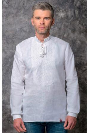 Вышиванка мужская «Ростислав» белого цвета