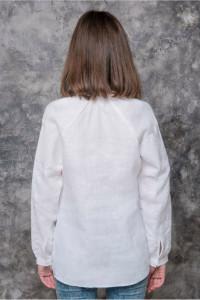 Вишиванка «Зінаїда» білого кольору