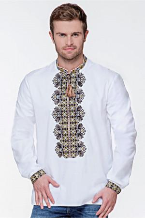 Вишиванка чоловіча «Всеволод» білого кольору