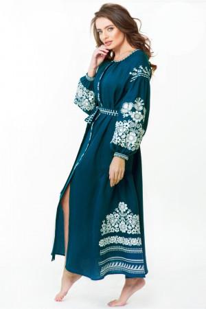 Сукня «Лелія» сапфірового кольору