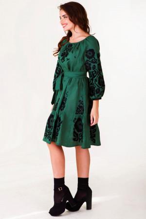Сукня «Ганя» зеленого кольору