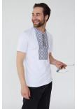 Мужская футболка «Зиновий» белого цвета