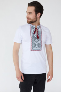 Чоловіча футболка «Гаврило» білого кольору