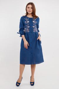 Сукня «Аніта» синього кольору