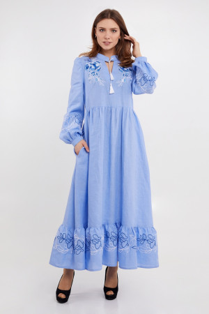 Сукня «Піона» блакитного кольору