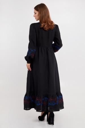 Сукня «Піона» чорного кольору