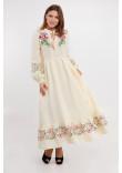 Сукня «Піона» молочного кольору
