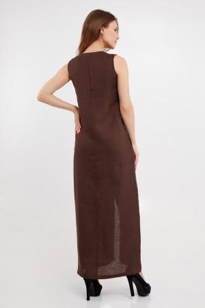 Сарафан «Полада» коричневого цвета
