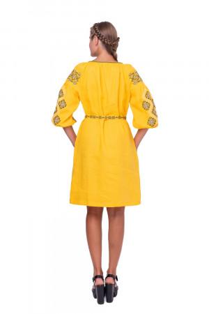 Сукня «Іванна» жовтого кольору