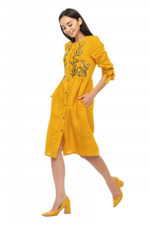Сукня «Аніта» гірчичного кольору