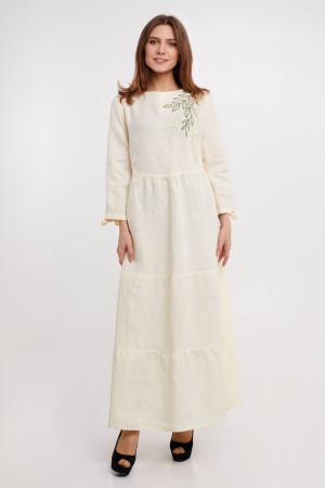 Платье «Оливия» молочного цвета