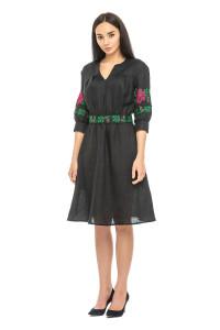 Платье «Мари» черного цвета