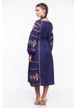 Сукня «Василиса» синього кольору