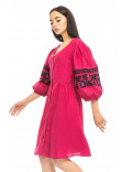 Сукня «Лея» кольору фуксії
