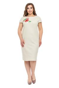 Сукня «Діана» бежевого кольору
