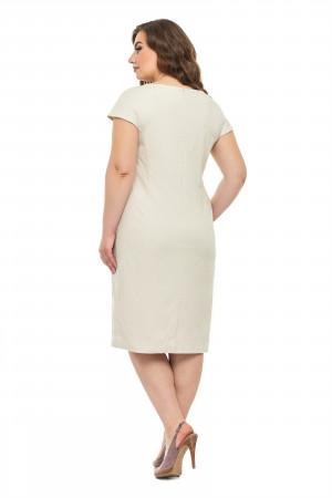 Платье «Диана» бежевого цвета