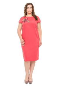 Платье «Диана» кораллового цвета